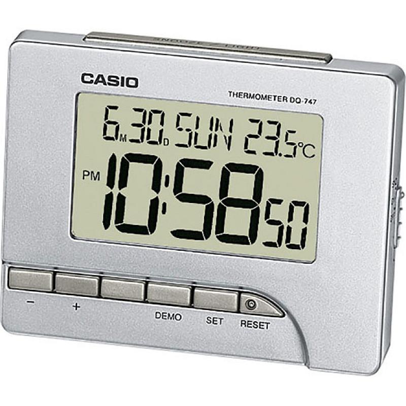 Ceas pentru birou Casio - DQ-747-8EF