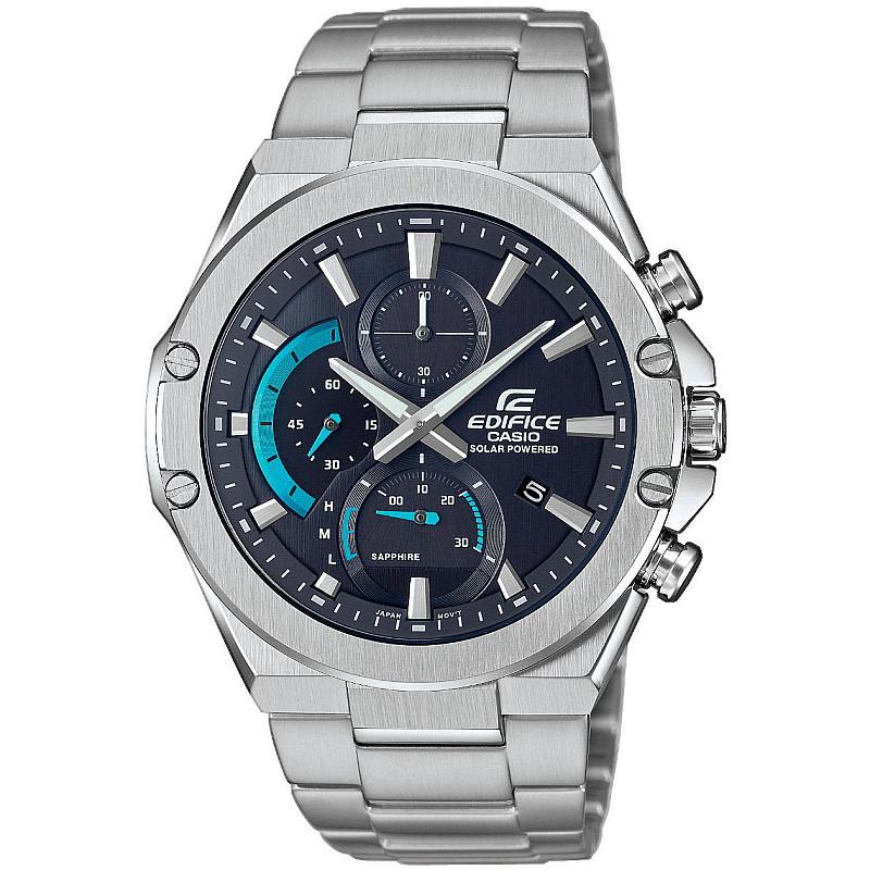 Ceas barbatesc Casio Slim Solar Chronograph Sapphire - EFS-S560D-1AVUEF 1