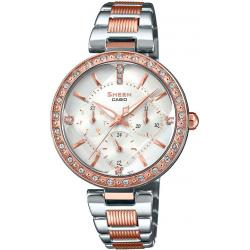 Ceas dama Casio Sheen Swarovski Edition - SHE-3068SPG-7AUER