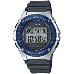 Ceas barbatesc Casio digital - W-216H-2AVEF